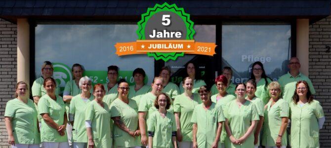 5 Jahre Pflegedienst Up Dörp