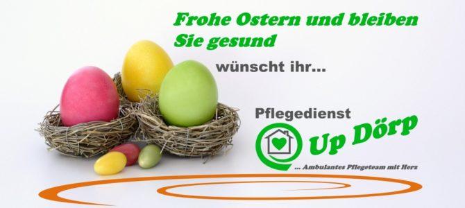 Frohe Ostern und bleiben Sie gesund