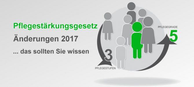 Pflegestärkungsgesetz ab Januar 2017 vollständig wirksam